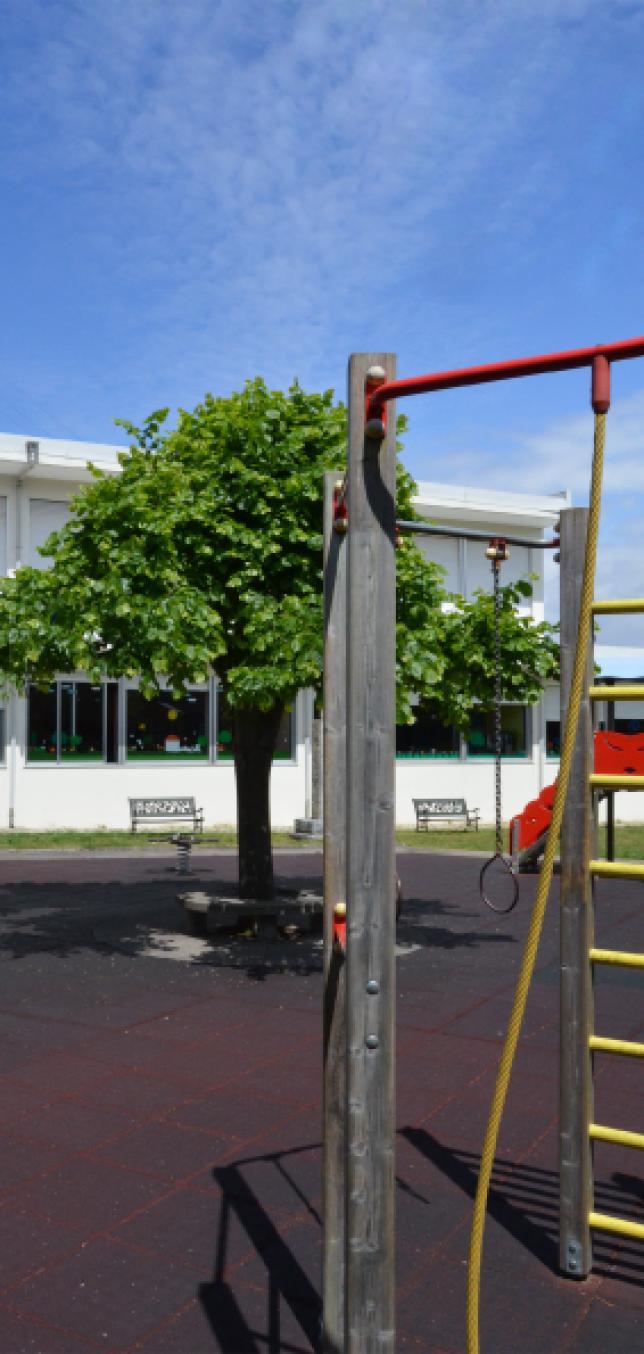 Espaço de lazer e recreio para o 1º ciclo e pré-escolar